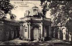 Postcard Bayreuth in Oberfranken, Königliches Lustschloss Eremitage, Sonnentempel