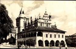 Postcard Levoča Leutschau Slowakei, L'Hotel de Ville, Rathaus, Mestska Radnica