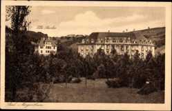 Postcard Bad Mergentheim in Tauberfranken, Villa Reicher, Kuranstalt Hohenlohe