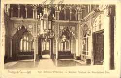 Postcard Stuttgart Cannstadt in Baden Württemberg, Kgl: Schloss Wilhelma, Festsaal