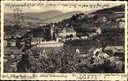 Postcard Schmalkalden im Thüringer Wald, Ortschaft mit Schloss Wilhelmsburg