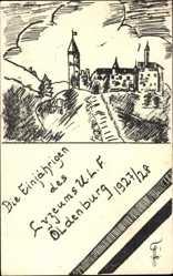 Studentika Künstler Ak Oldenburg in Niedersachsen, Lyzeum U.L.F. 1927