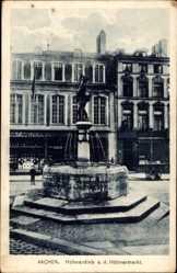 Postcard Aachen in Nordrhein Westfalen, Hühnerdieb an dem Hühnermarkt