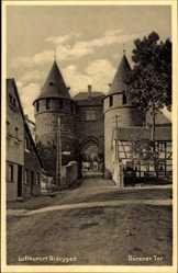 Postcard Nideggen in der Eifel, Dürener Tor, Durchblick