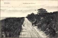 Postcard Wittdün Insel Insel Amrum in Nordfriesland, Wandelbahn mit Kaiserhof
