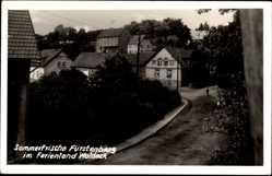 Foto Ak Fürstenberg Lichtenfels im Obermainland Oberfranken, Ferienland Waldeck