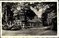 Postcard Perleberg in der Prignitz, Ausflugsort, Forsthaus Alte Eichen