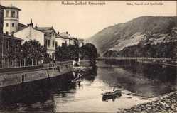Postcard Bad Kreuznach in Rheinland Pfalz, Nahe, Haardt und Quellenhof