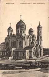Postcard Warschau Polen, Russischer Dom, Sobor Prawoslawny