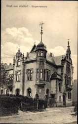 Postcard Alsdorf Nordrhein Westfalen, Blick auf die Bürgermeisterei