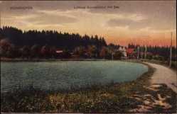 Postcard Bad Wörishofen im schwäbischen Kreis Unterallgäu, Luftbad Sonnenbüchl