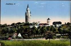 Postcard Friedberg im Wetteraukreis Hessen, Blick auf die Ortschaft