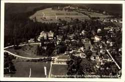Postcard Freudenstadt im Nordschwarzwald, Fliegeraufnahme von der Stadt