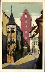 Postcard Meersburg im Bodenseekreis Baden Württemberg, Blick auf Oberes Tor