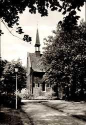Postcard Herne im Ruhrgebiet Nordrhein Westfalen, Schlosskapelle, Blick von Süden