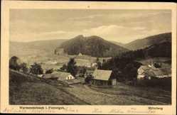 Postcard Warmensteinach Oberfranken Bayern, Mittelberg, Talblick