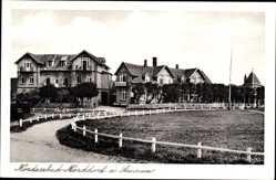 Postcard Norddorf Insel Amrum in Nordfriesland, Hotel und Pension Hüttmann, Max Reese