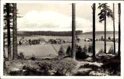 Postcard Siegmundsburg Neuhaus am Rennweg, Gesamtansicht