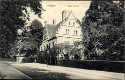 Postcard Husum in Nordfriesland, Seitenansicht Haus Cornils