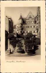 Postcard Kempten im Allgäu Schwaben, Blick von der Freitreppe, Louis Jäger