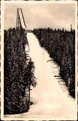 Postcard Erlabrunn bei Johanngeorgenstadt, Hotel Täumerhaus, Hanz Heinz Schanze
