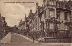 Postcard Kaiserslautern in Rheinland Pfalz, Häuser in der oberen Ringstraße
