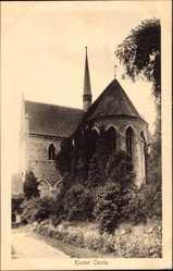 Postcard Chorin im Kreis Barnim, Teilansicht des Klosters