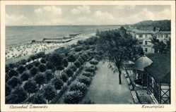 Postcard Zinnowitz auf der Insel Usedom, Ostseebad, Blick auf den Konzertplatz