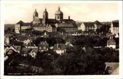Postcard Weingarten Baden Württemberg, Totalansicht der Stadt, Kloster