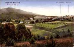 Postcard Hayn Oybin in Sachsen, Franz Josefshöhe, Wilhelmshöhe, Hochwald