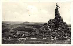 Postcard Gersfeld in der Rhön in Hessen, Wasserkuppe, Berg der Segelflieger