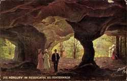 Künstler Ak Beraud, Luxemburg, Hohllay, Aesbachtal, Tuck 744