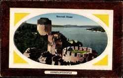 Präge Passepartout Ak Konstantinopel Istanbul Türkei, Roumeli Hissar