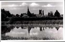Postcard Marienthal Hamminkeln am Niederrhein, Blick auf die Kirche