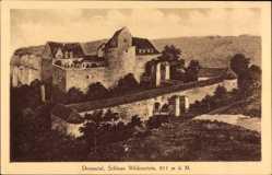 Postcard Leibertingen Kreis Sigmaringen, Donautal, Schloss Wildenstein