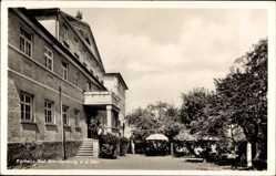 Postcard Dietenheim a.d. Iller, Partie am Kurhaus Bad Brandenburg, Josef Kuschela