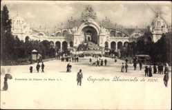 Cp Paris, Expo, Weltausstellung 1900, Ensemble du Champ de Mars