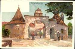 Künstler Litho Mutter, K., Rothenburg ob der Tauber, Röderthor