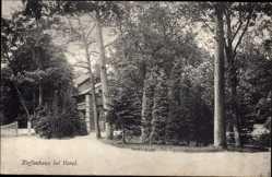 Postcard Varel am Jadebusen, Blick auf einen kleinen Teil des Kaffeehauses