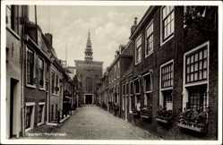 Postcard Haarlem Nordholland Niederlande, Kerkstraat, Kirchenstraße
