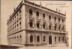 Postcard Toledo Kastilien La Mancha, Ansicht vom Hotel Castilla