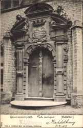 Postcard Middelburg Zeeland, Gouvernementspoort, Tor zur Regierung