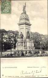 Postcard 's Gravenhage Den Haag Südholland, Nationaal Monument