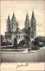 Postcard Roermond Limburg Niederlande, Monumentale Munsterkerk, Kirche