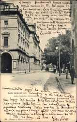 Postcard Donostia San Sebastián Baskenland, Diputacion Provincial