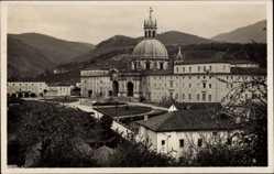 Postcard Loyola Baskenland Spanien, San Ignacio, Gesamtansicht der Basilika
