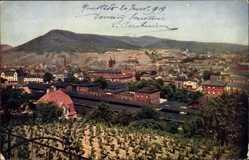 Postcard Neustadt an der Weinstraße, Panoramablick auf die Ortschaft, Novitas 1508