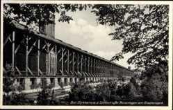 Postcard Bad Dürkheim am Pfälzerwald, Kuranlagen am Gradierwerk