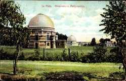 Postcard La Plata Argentinien, Blick auf das Obervatorio Astronomico