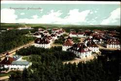 Postcard Grafenwöhr Oberpfalz, Blick auf das Truppenlager